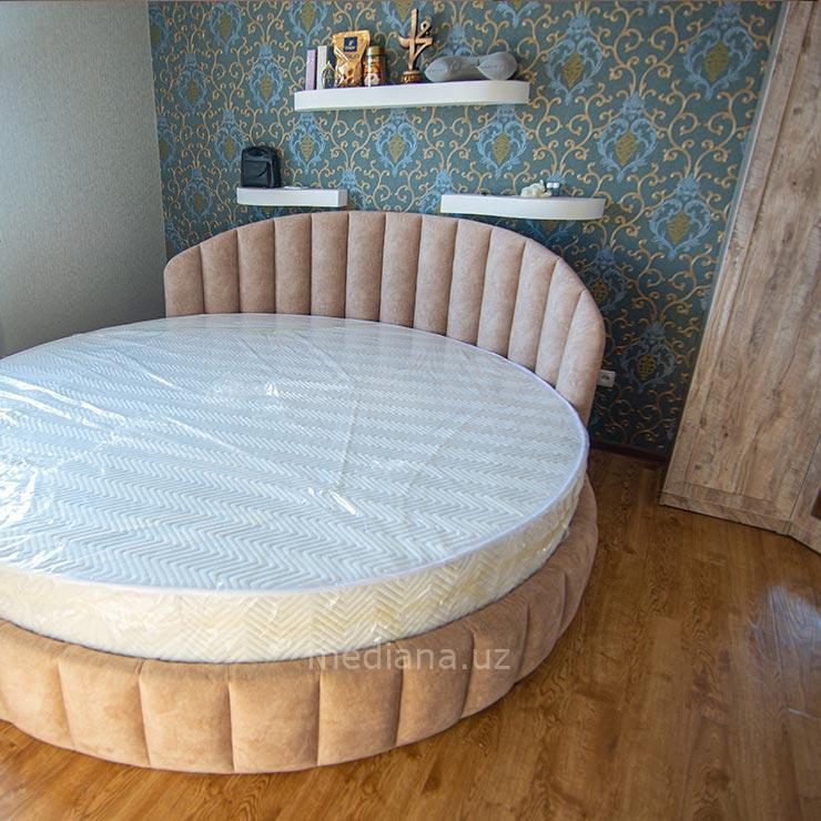 Круглая кровать - мебель на заказ в Ташкенте